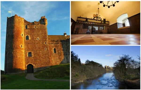 Игра на тронови замок Шкотска