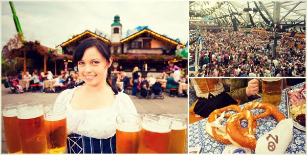 Октоберфест Минхен фестивал на пивото