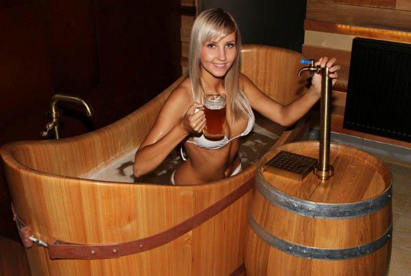 бања со пиво