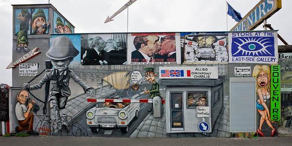 Источен Берлин галерија Берлински Ѕид