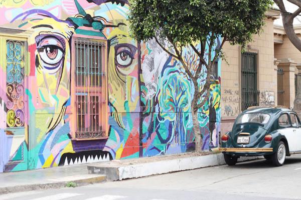улица во Баранко, Перу