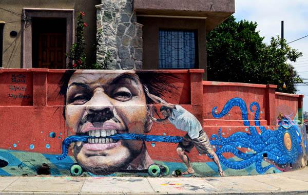 најубави графити на улици во Валпаризо