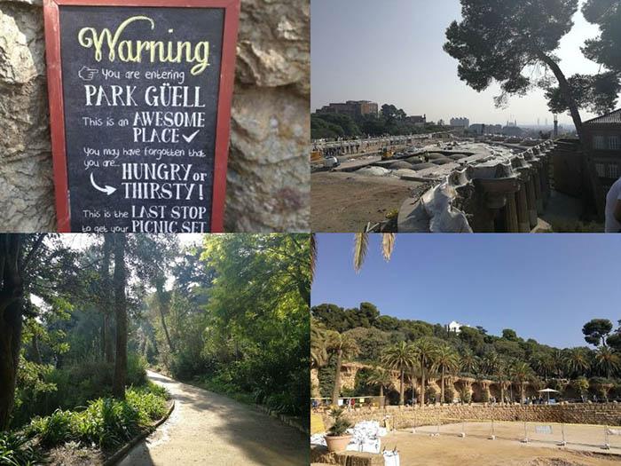 Барселона Парк Гуел